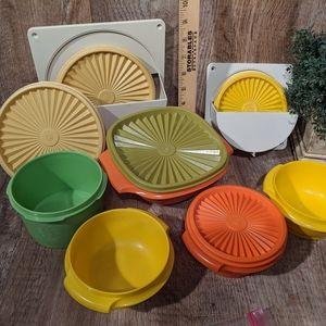 COPY - Vintage Tupperware Storage Bowls Lids Hold…